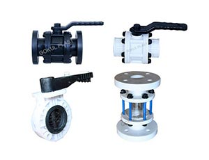 PP Ball Valves Manufacturers & Exporter